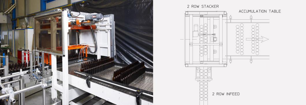Rosario-two-row-stacker